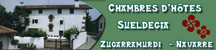 Chambres d 39 h tes sueldegia zugarramurdi pays basque espagnol - Chambres d hotes pays basque francais ...